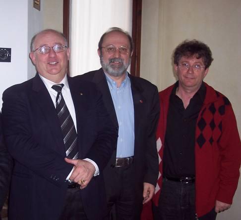 Marconcini.Milani.Zandonai in recente incontro a Mantova